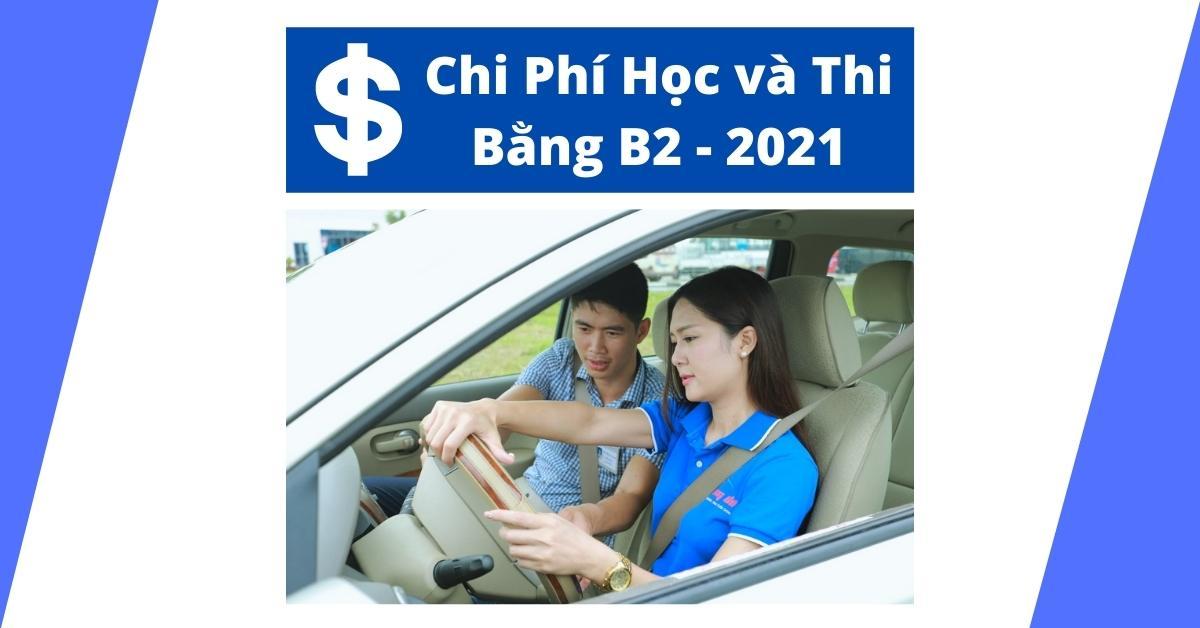 Chi phí thi bằng B2